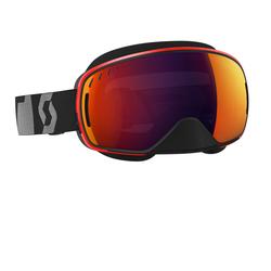 Scott Goggle LCG Snow Cross black/red solar red chrome