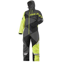 Scott Monosuit X One Pro musta/neonkeltainen