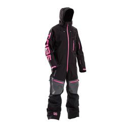 Tobe Privus Mono Suit Jet Black Pink Insulated