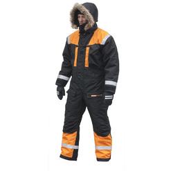 SnowPeople Iceware Pro haalari musta/oranssi