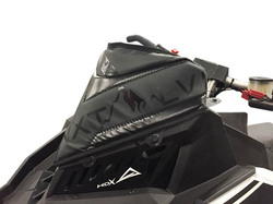 Skinz Next Level Tuulisuojalaukku Musta 2015- Polaris Axys
