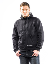 Sweep Hoodie Viking cotton aramid Black