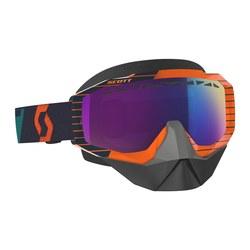 Scott Goggle Hustle Snow Cross oran/blue enh teal chr