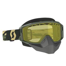 Scott Goggle Primal Snow Cross camo kaki yellow