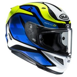 HJC  Helmet RPHA 11 Deroka MC2 Blue/Yellow/White