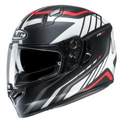 HJC  Helmet FG-ST Gridan Matt Black/White/Red MC1SF