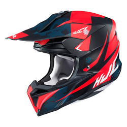HJC  Helmet I 50 Tona Black/Red MC1SF