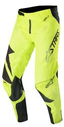 Alpinestars housut Techstar, musta/fl keltainen