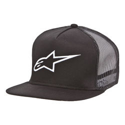 Alpinstars Corp Trucker cap, black one size