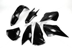 huge discount af424 18234 UFO Muovisarja 5-osainen Musta HVA TC FC 125-501 14-15