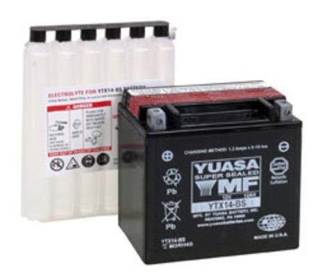 Yuasa akku, YTX14-BS (cp)