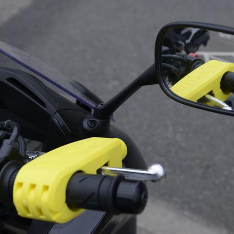 Oxford LK301 lukko, keltainen