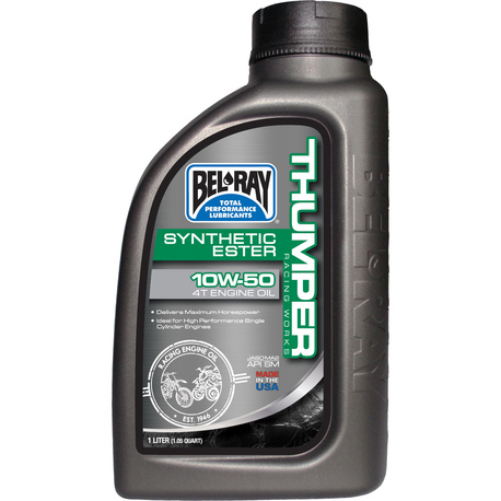 Bel-Ray Thumper® Racing Works 10W-50 Synthetic Ester 4T Engine Oil 1L