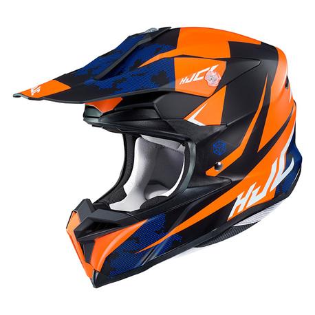 HJC  Kypärä I 50 Tona Musta/Oranssi MC7SF