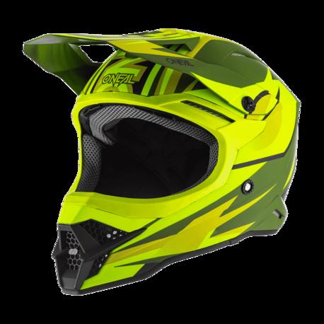 ONeal Helmet 3-serie Riff 2.0 Oliivi/Keltainen Fluo