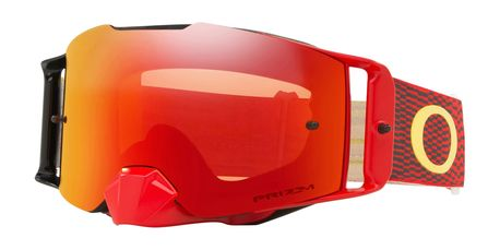Oakley Front Line MX Equalizer Red Yellow Prizm MX Torch Iridium
